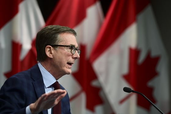 Bank of Canada Sees 'Good Rebound' Despite Rising Inflation Risk