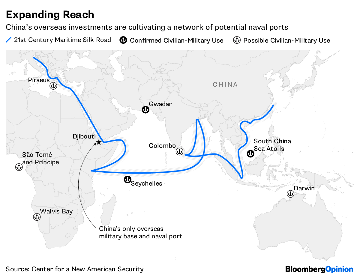 China\'s Master Plan: A Global Military Threat - Bloomberg