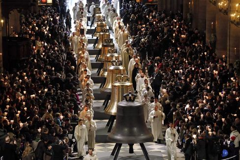 Notre Dame's New Bells Will Peal on Palm Sunday in Paris