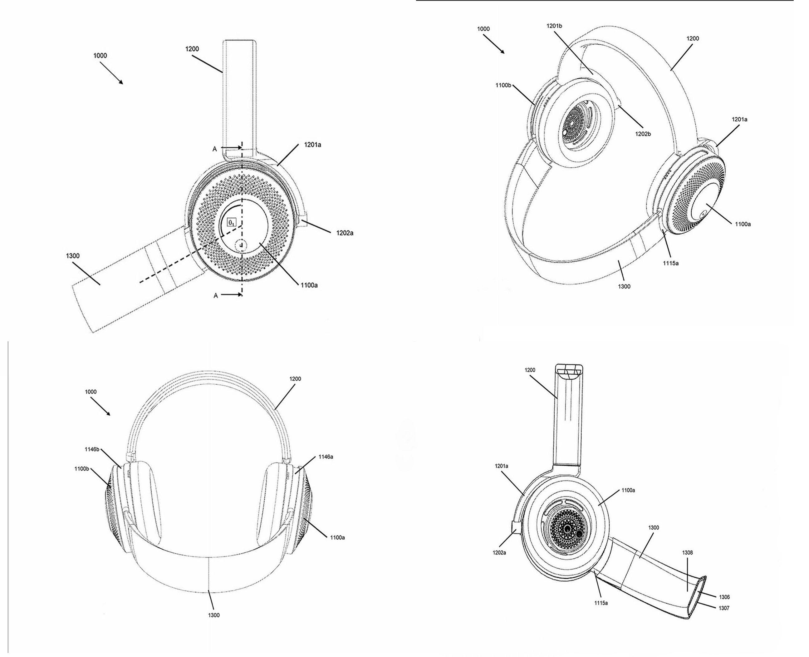Dyson vraagt patent aan voor koptelefoon met luchtzuivering