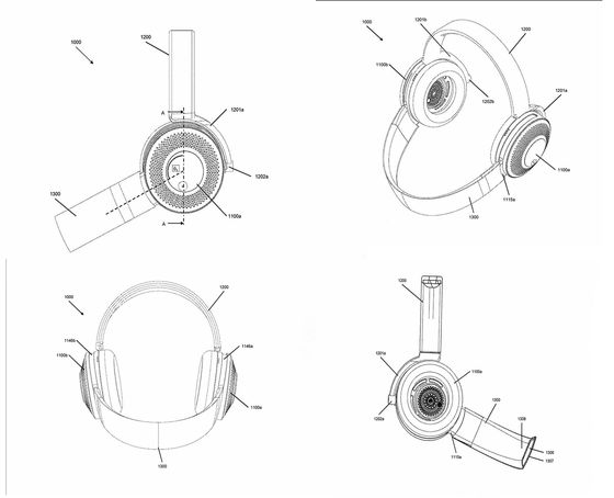Dyson Reveals Patents for Headphones That Purify Air Around You