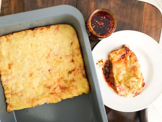 Jamie Oliver Turns Leftover Mashed Potatoes Into a BrilliantCheese Pie