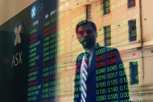 Stock Boards At The Australian Securities Exchange As Markets React To Election Results