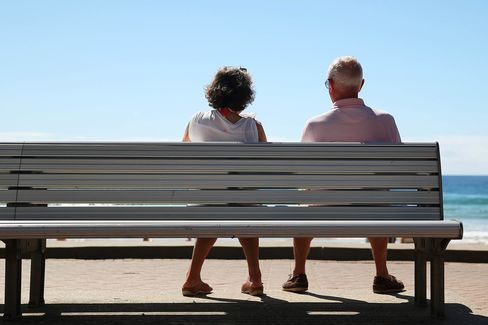 Images Of Retirees As Australia's $1.5 Trillion Pension System Failing