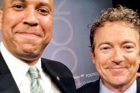 Rand Paul and Cory Booker's Washington Love Affair