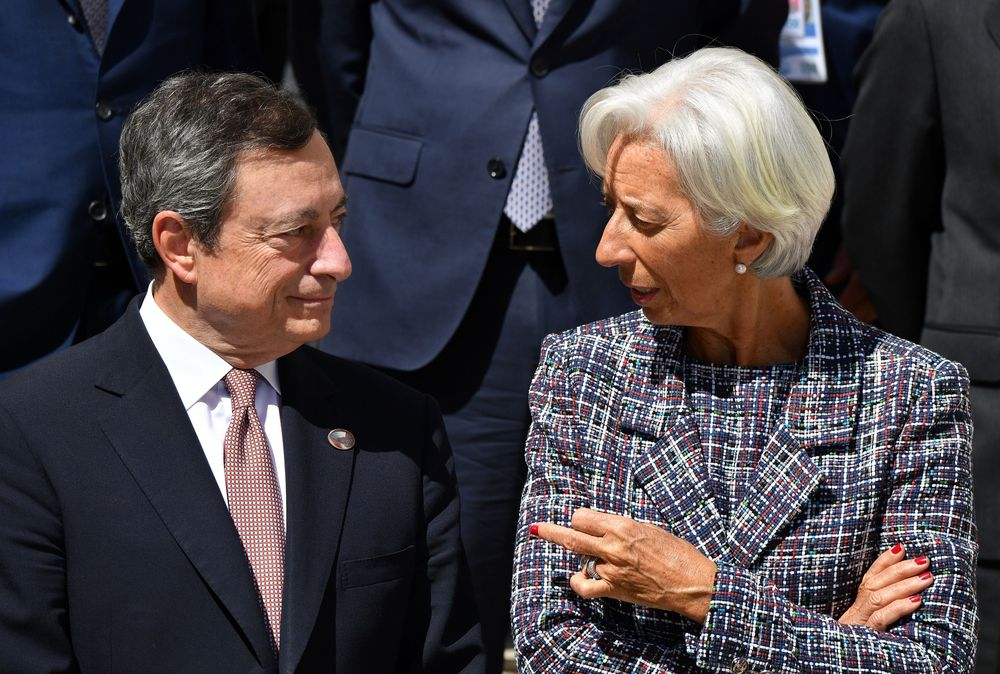 Mario Draghi Should Replace Christine Lagarde at the IMF