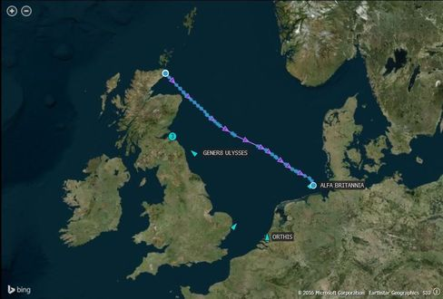 Vessels storing crude on the North Sea are moving to port as oil demand rises.