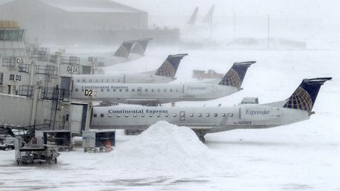 Wintry Weather Ohio Airports