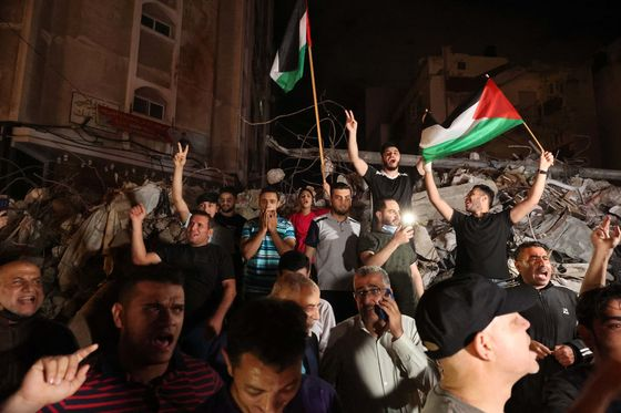 Israelis, Palestinians Celebrate Truce After 11-Day Conflict