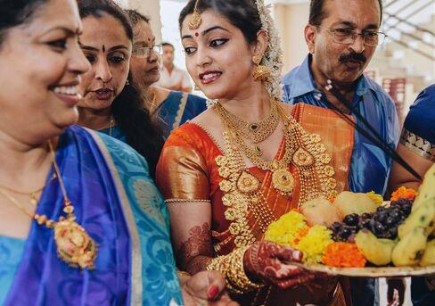 Bride Amrita Mannil