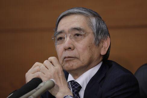 黒田総裁(11月1日の記者会見)
