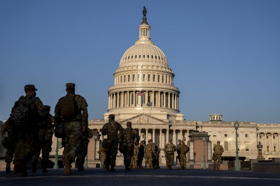 Pentagon Approves Deployment of Guard at Capitol Until May 23