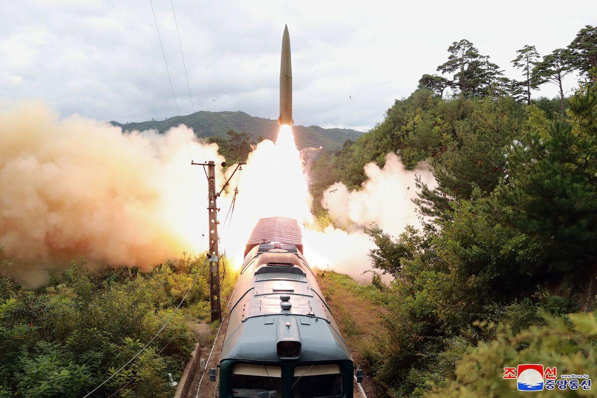 Kim Jong Un Propaganda Team Gives Train Missile Hollywood Flair