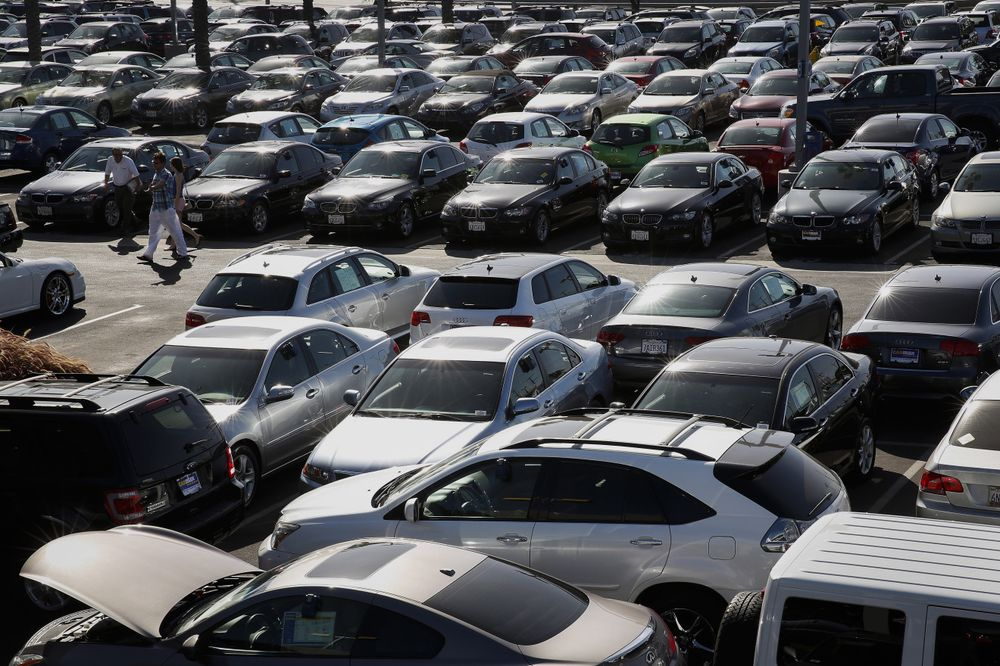 Used Car Price Plunge In Cpi Contrasts With U S Industry Data