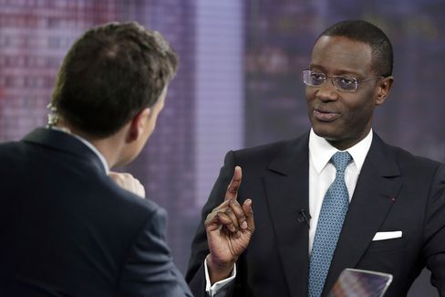 Prudential Plc Chief Executive Officer Tidjane Thiam
