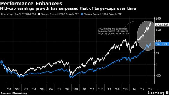 Mid-Cap Stocks Still Have Room to Run as 'M&A Effect'Kicks In