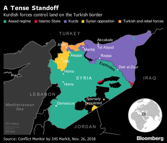 Kurdish Ambitions Test Turkey's Uneasy Peace With U.S.