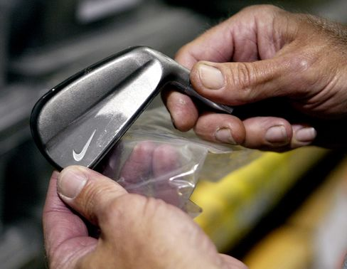 Nike Patent to Give Golfers Edge With Data Collecting Clubs