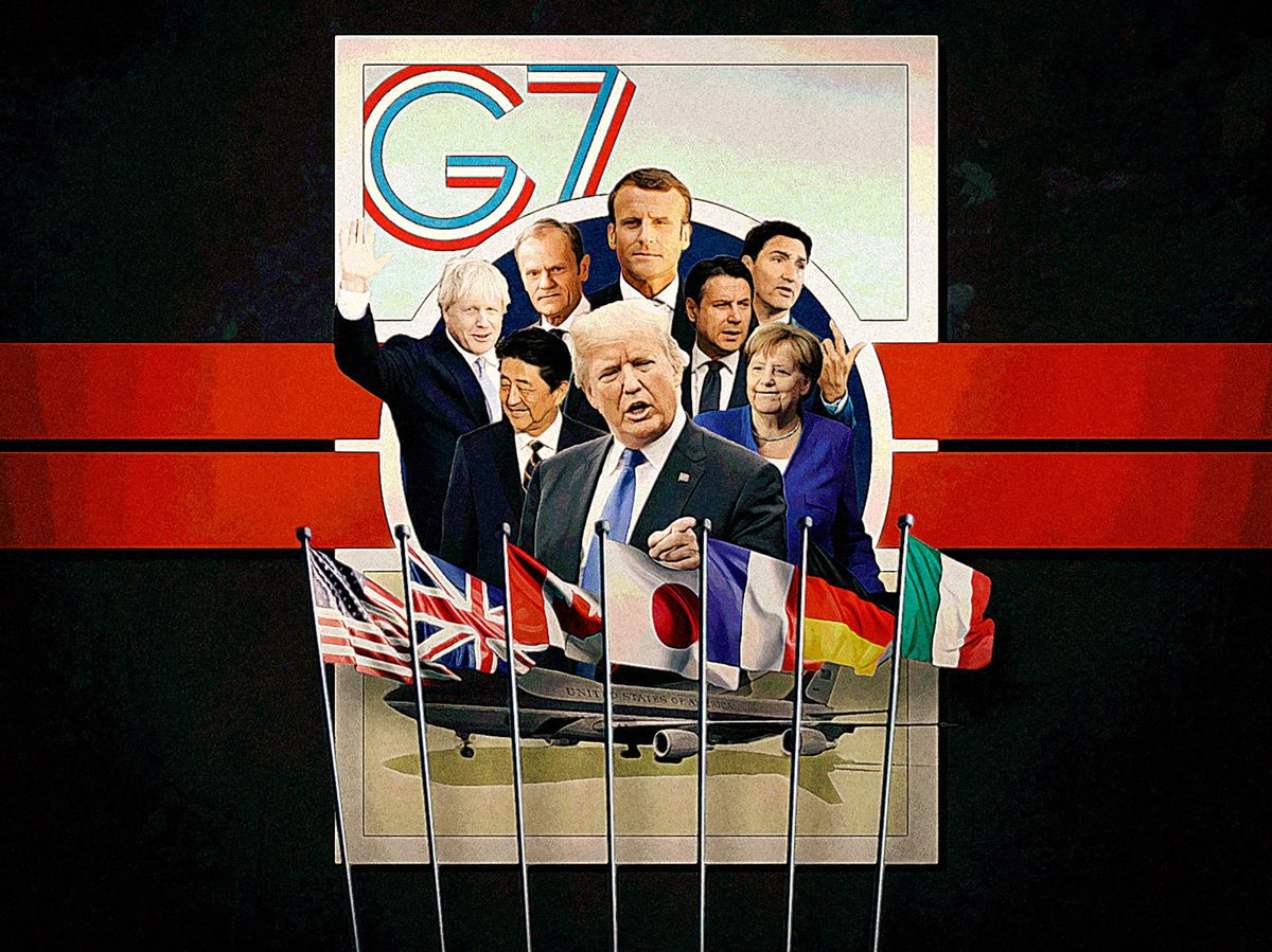 Iran's Zarif in Biarritz on French Invitation: G-7 Update