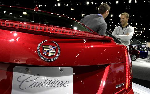 GM Shares Recalled to Life as Cadillac Drives Sales Surge