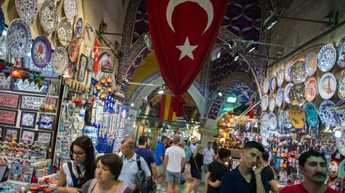Tourism And Bars As Erdogan Meets Protestors Over Taksim Square Development