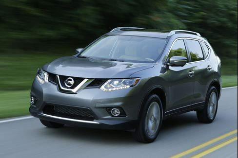 Nissan designers got aggressive with the latest Rogue.
