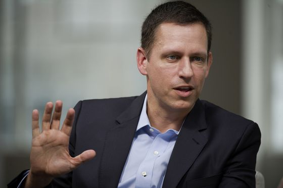 Peter Thiel Says Elizabeth Warren Is Most 'Dangerous' Candidate