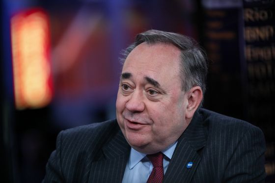 Alex Salmond Will Lead a New Scottish Party Into May Election