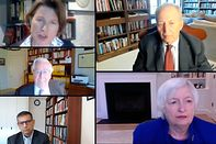 Former Central Bank Leaders Discuss a New Global Mandate