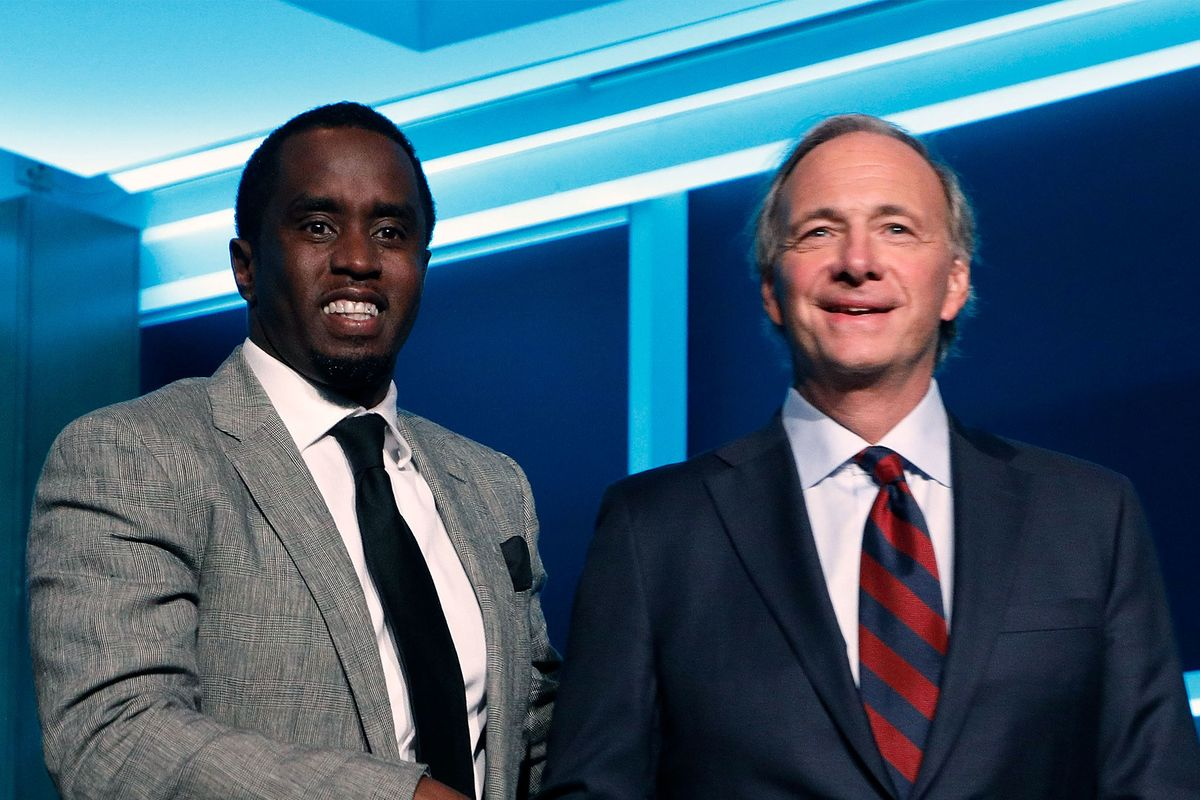 Ray Dalio Calls Sean 'Diddy' Combs A Hero of His