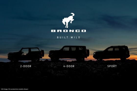 Ford Revives Bronco Brand to Lure Off-Road Enthusiasts From Jeep