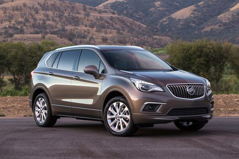Buick will launch its new Envision crossover, a vehicle imported to the U.S. from China.