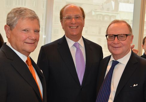Jerry Speyer, Larry Fink and Thomas H. Lee
