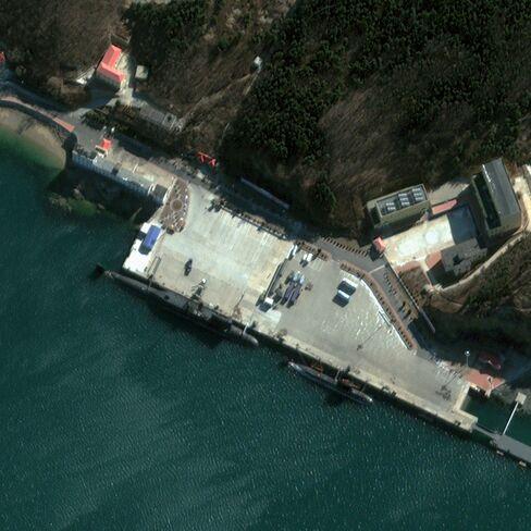 China's Submarine Training Base