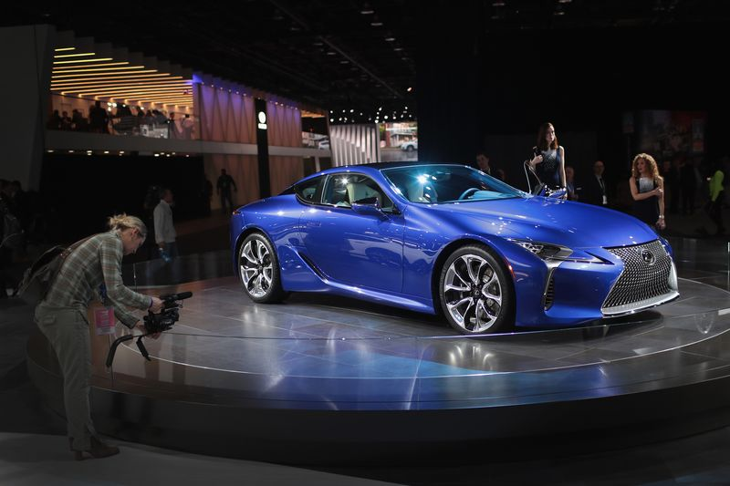 Is Black Panther The Superhero Lexus Needs Bloomberg - Lexus car show
