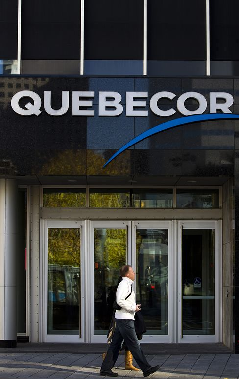 Quebecor Raises Stake in Quebecor Media With C$1.5 Billion Deal