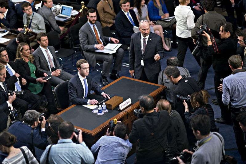 Facebook CEO Mark Zuckerberg Testifies Before The Senate Judiciary And Commerce Committees
