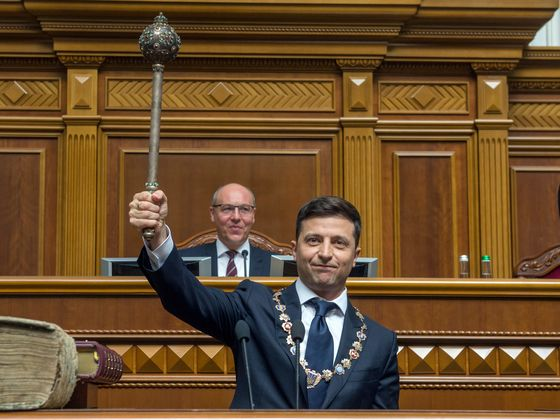 Ukraine's Leader Is Being Broken by the System He Vowed to Crush