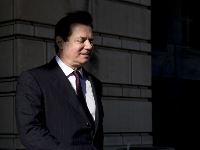 Court Hearing For Paul Manafort And Rick Gates Following Indictment