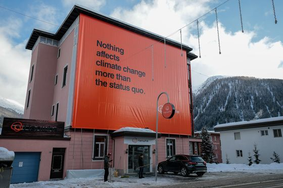 It Took 50 Years for Climate Change to Top the Davos Agenda
