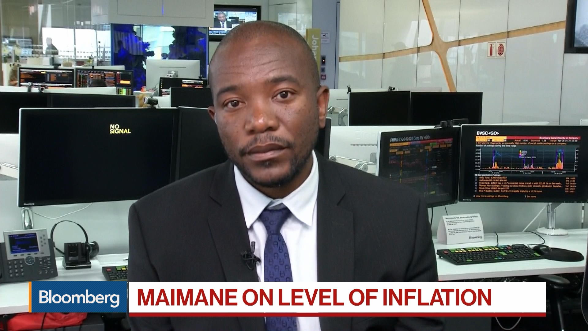 S. Africa's Democratic Alliance Leader on Election, Blackouts, Debt Ratio, Inflation