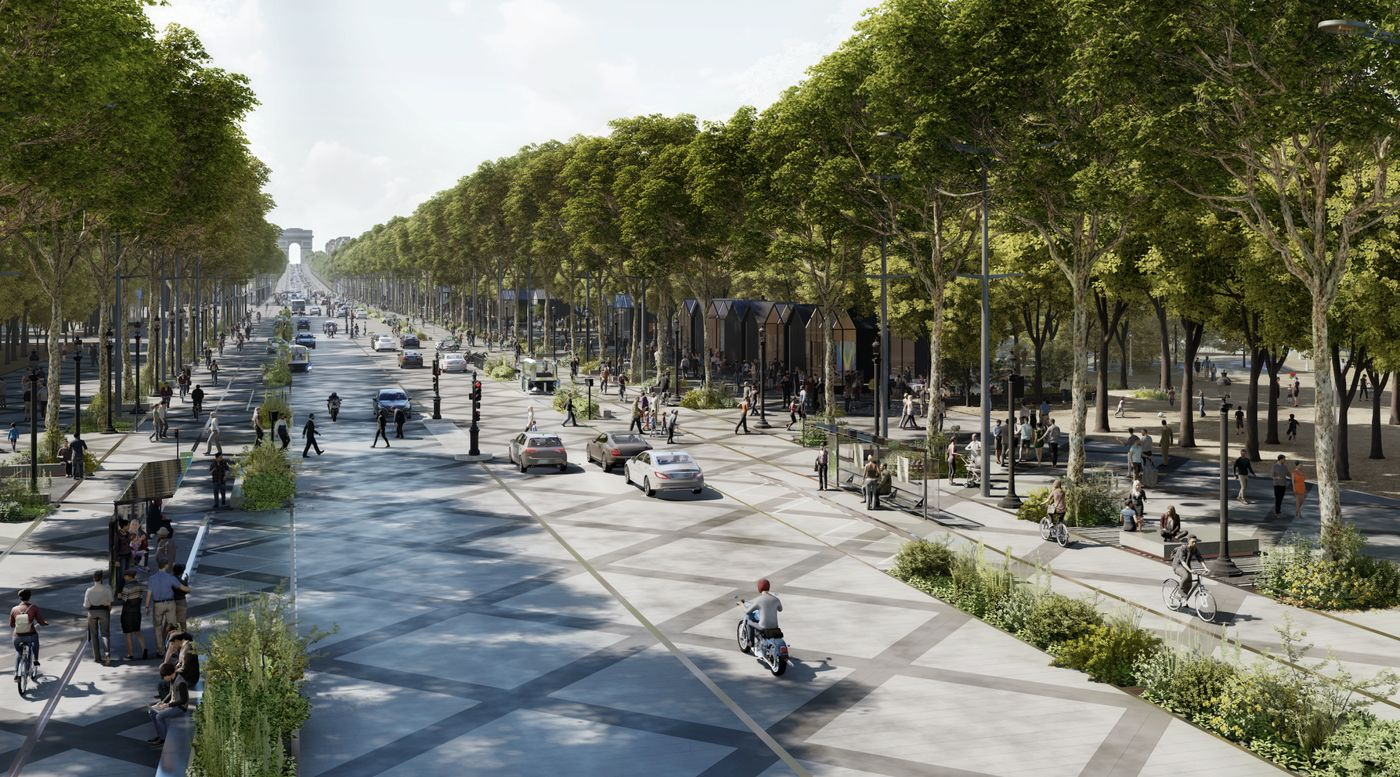 relates to A Green Transformation for the 'World's Most Beautiful Avenue'
