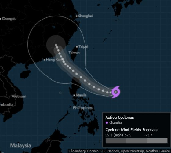 Super Typhoon Threatens Philippines as It Heads to Taiwan