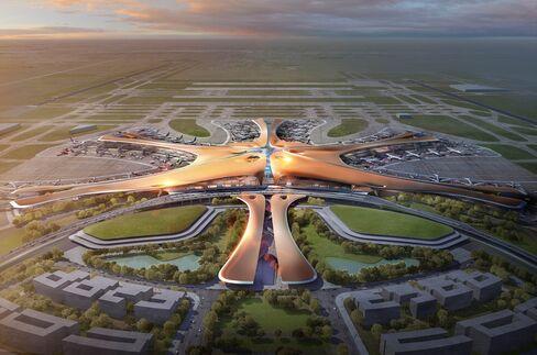 北京新空港のターミナルビル(イメージ)