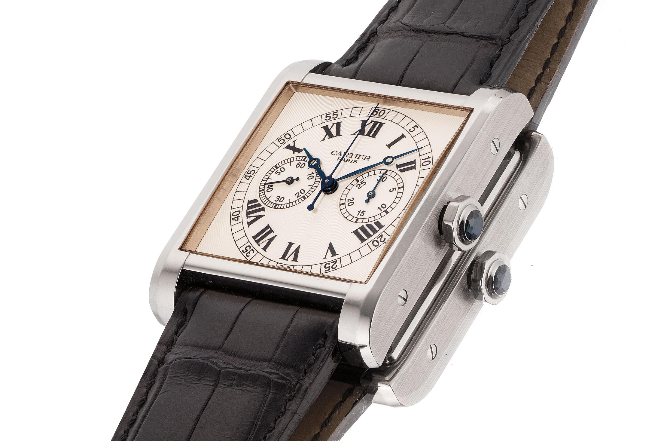 Cartier Monopusher Chronograph (Lot 60)