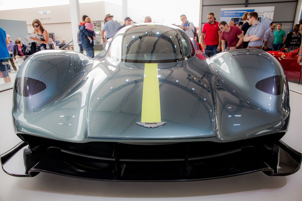 Aston Martin 003 Is Street Legal Version Of 2 6 Mill Valkyrie Bloomberg