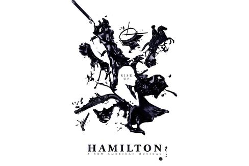 Ink-stained Hamilton