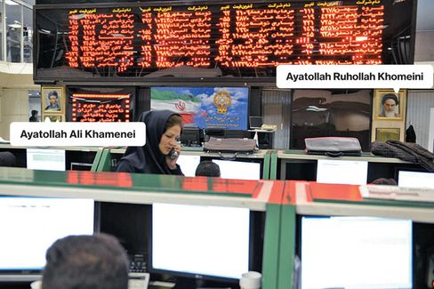 A Thaw With the West Boosts Iranian Stocks