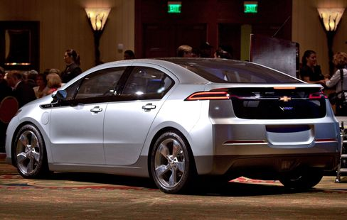 GM Said to Sell Chevrolet Volt for About $40,000