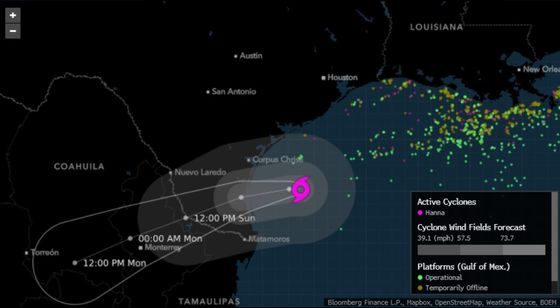 Hurricane Hanna Makes Landfall, Rakes Texas Coast With High Wind